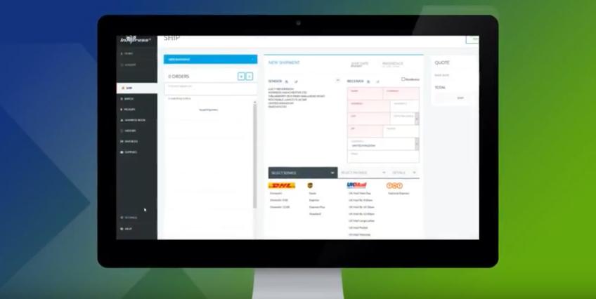 Webship customer portal